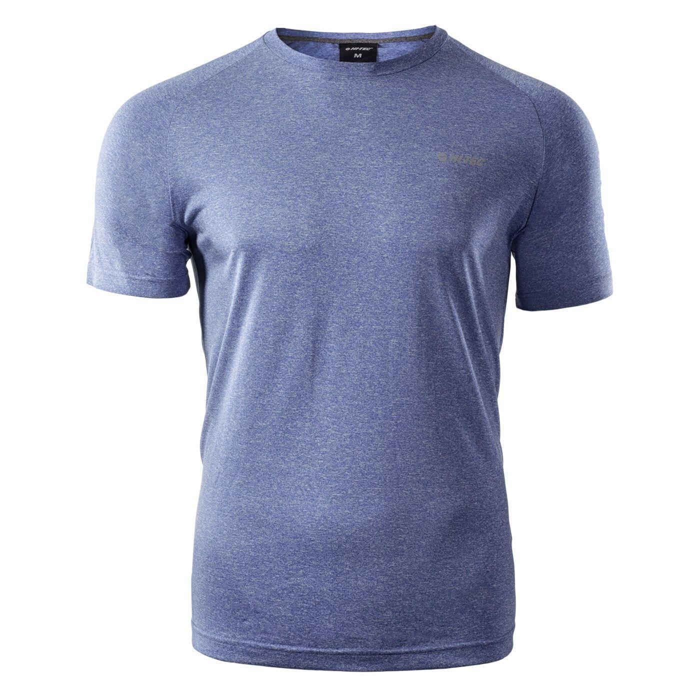 Męska koszulka TABAH VICTORIA BLUE MELANGE Hi Tec