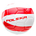Piłka POLSKA WORLD CUP WHITE/FIERY RED