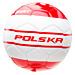 Piłka POLSKA WORLD CUP FIERY RED/WHITE