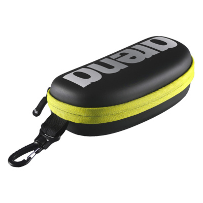 GOGGLE CASE BLACK-SILVER-FLUO YELLOW
